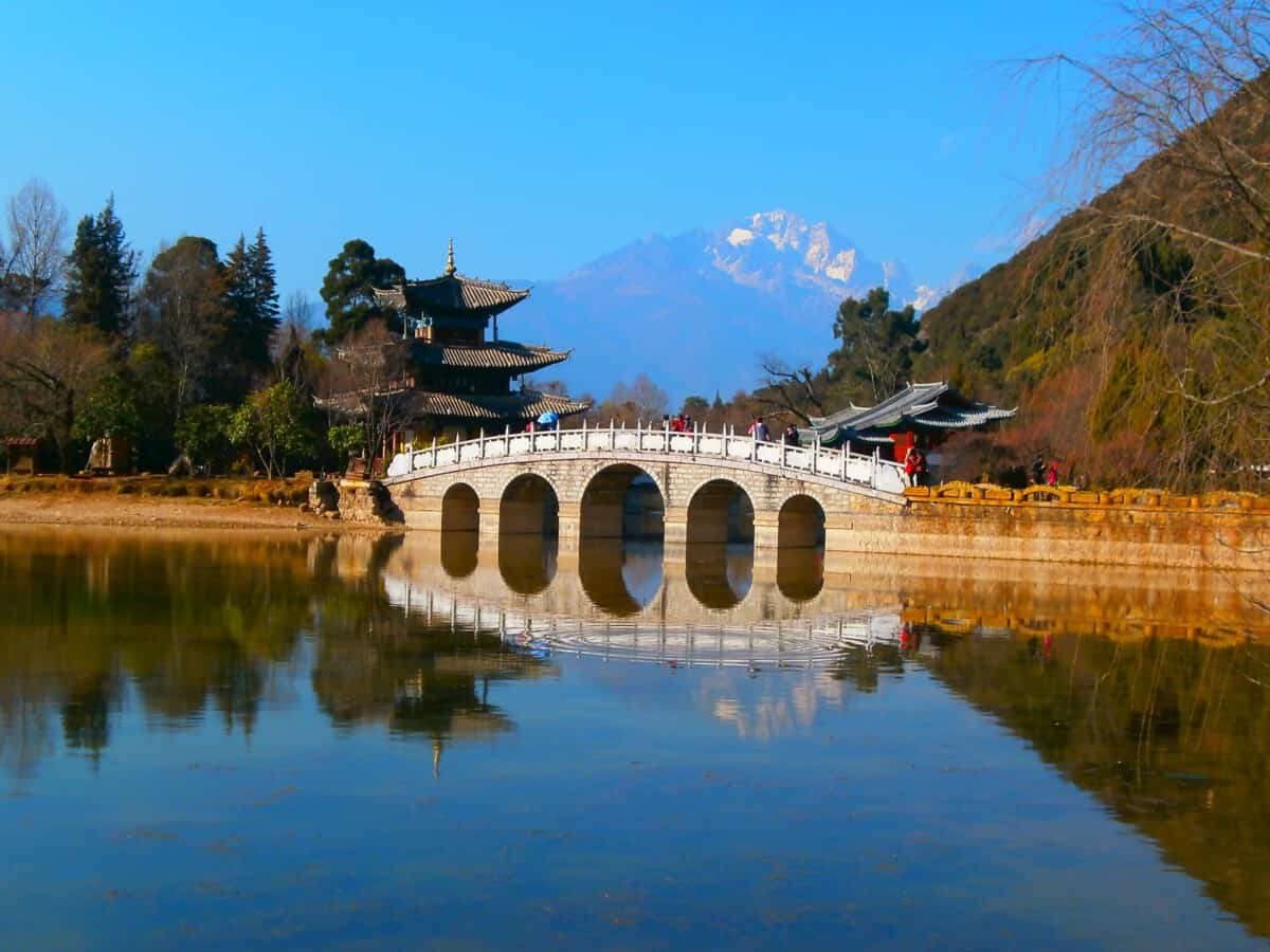 Yunnan Black Dragon Pool Lijiang - Organized trip to Yunnan: 12 days in China with driver and guide