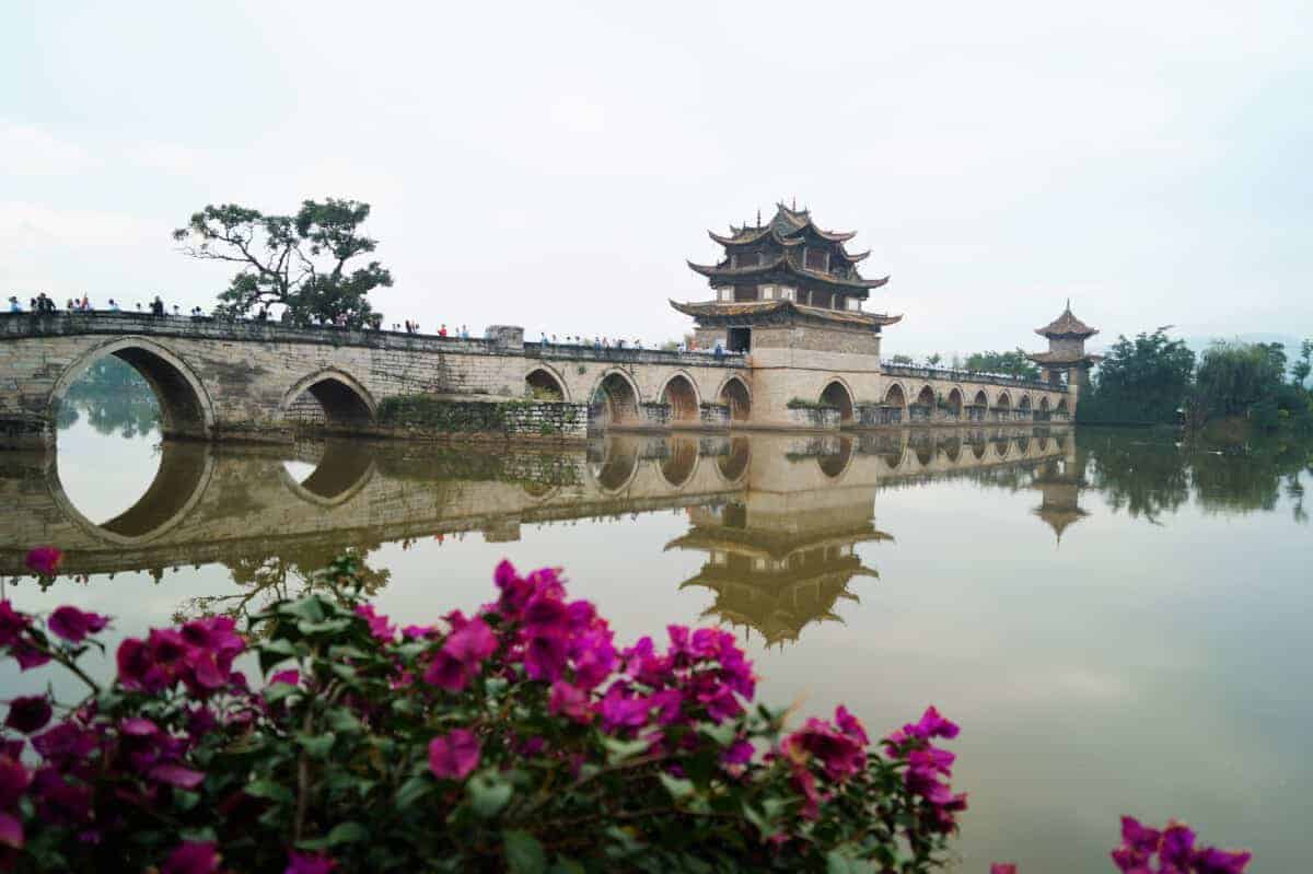 Jianshui Puente de doble dragon - Organized trip to Yunnan: 12 days in China with driver and guide