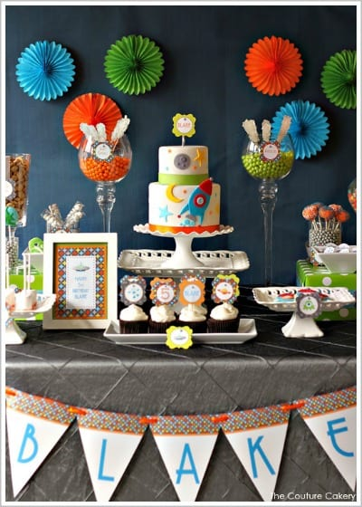 Boys Birthday Party Ideas Outer Space Party