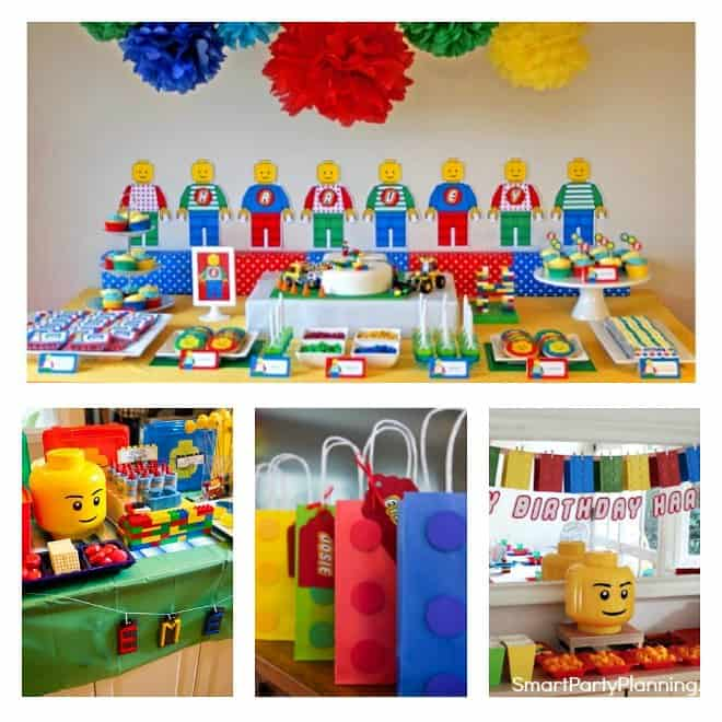 Fun Lego Party Ideas