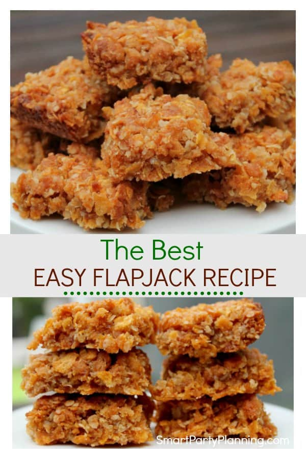 Learn how to make the best and super easy flapjack recipe that the whole family will love. This is a recipe for the kids to make as well as enjoy eating. This is definitely a British recipe but will soon become your favorite.