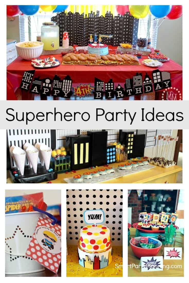 Superhero Party Idea