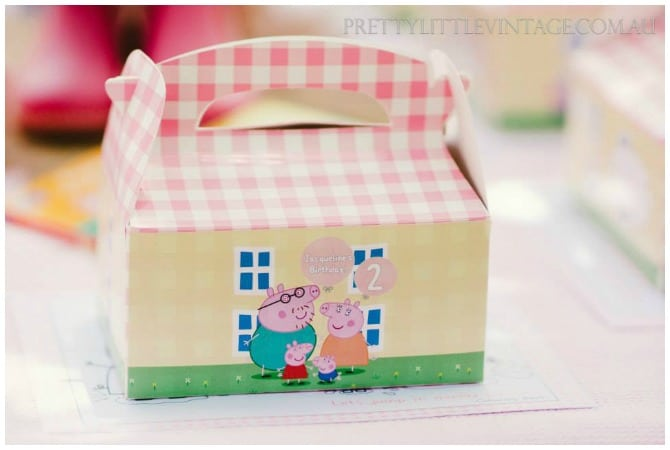 Personalized Peppa Box