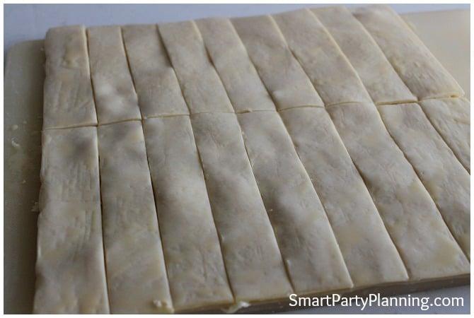 Cheese Sticks preparation