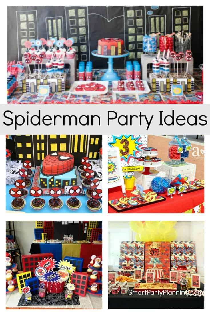 Spiderman Party Ideas