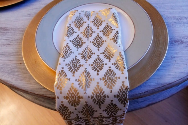 Plates with Napkins