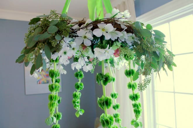 St Patrick's Hanging Wreath