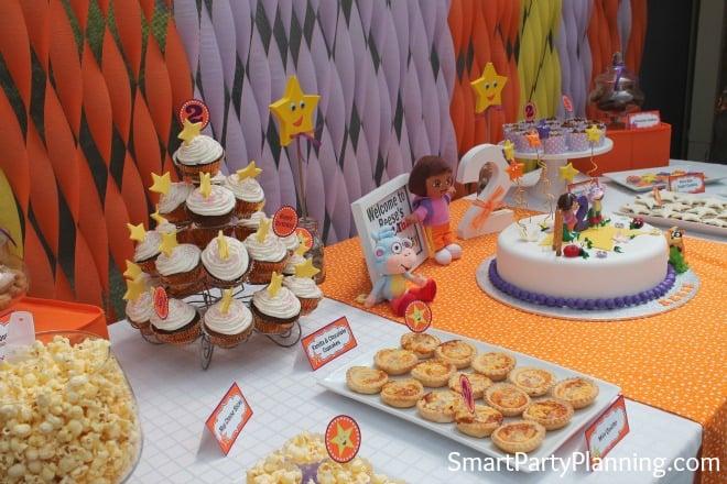 Dora Food Table