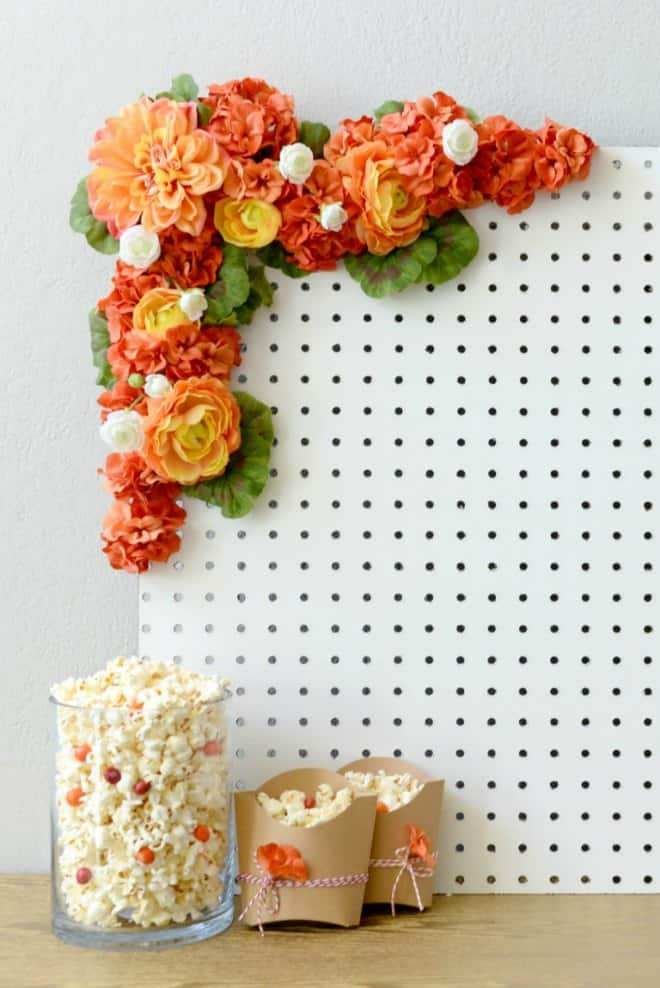 Floral Peg Backdrop