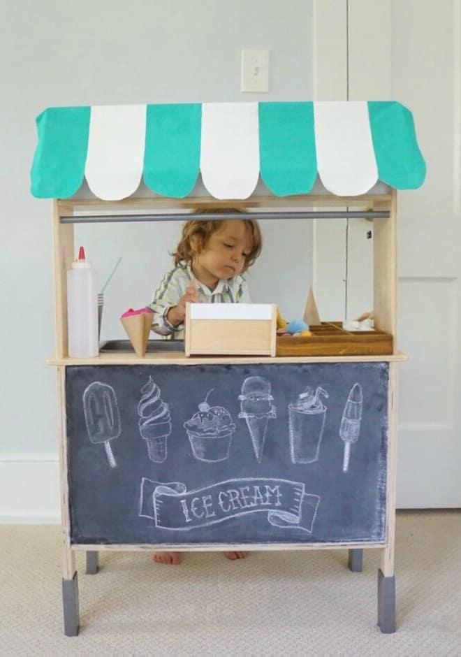 Ikea hack lemonade stand