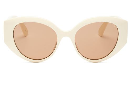 GUCCI GG-logo quilted cat-eye acetate sunglasses