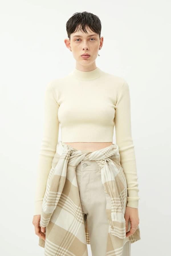Weekday Kimber Cropped Sweater