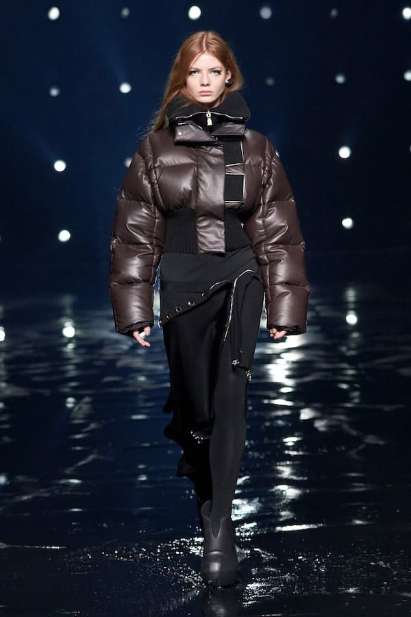 Givenchy AW21 quilted puffer coat