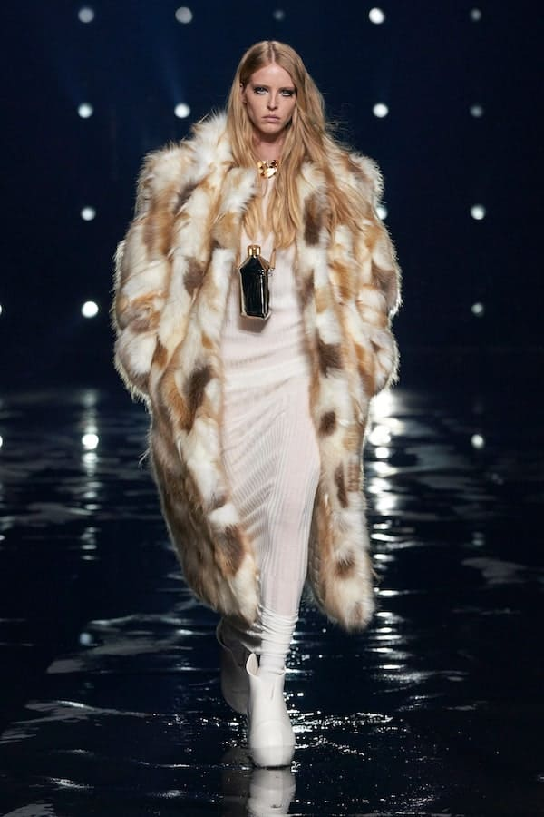 Givenchy AW21 fur