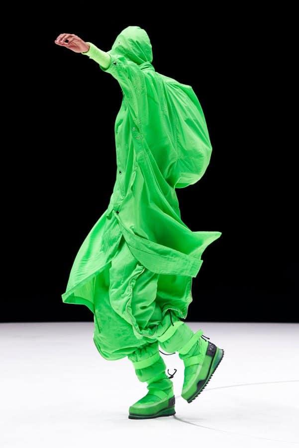 Kenzo AW21 catwalk look