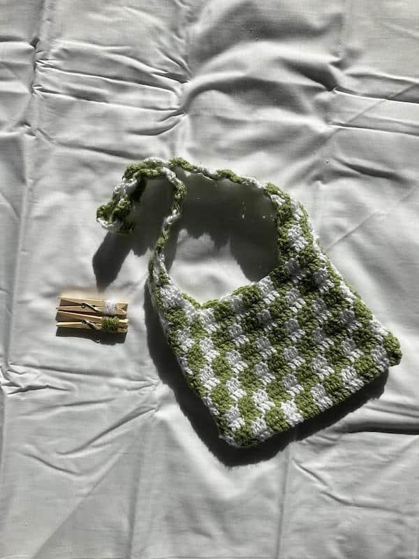 Etsy Crochet Tote Bag