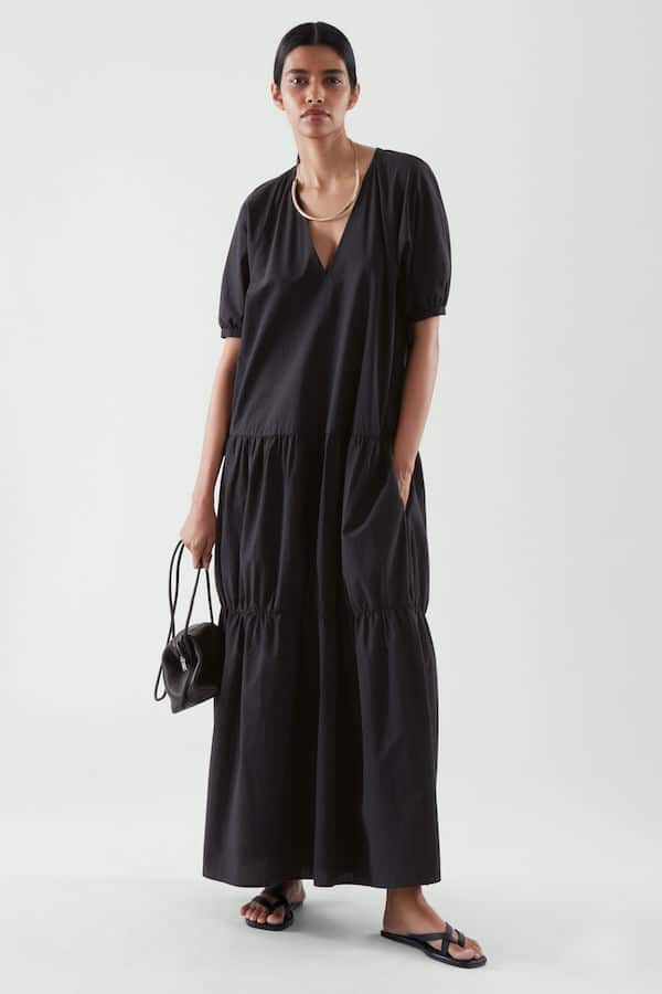 Tiered Maxi Dress COS