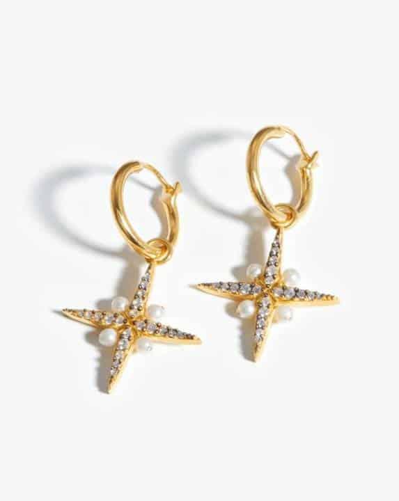 Harris Reed North Star Hoop Earrings Missoma