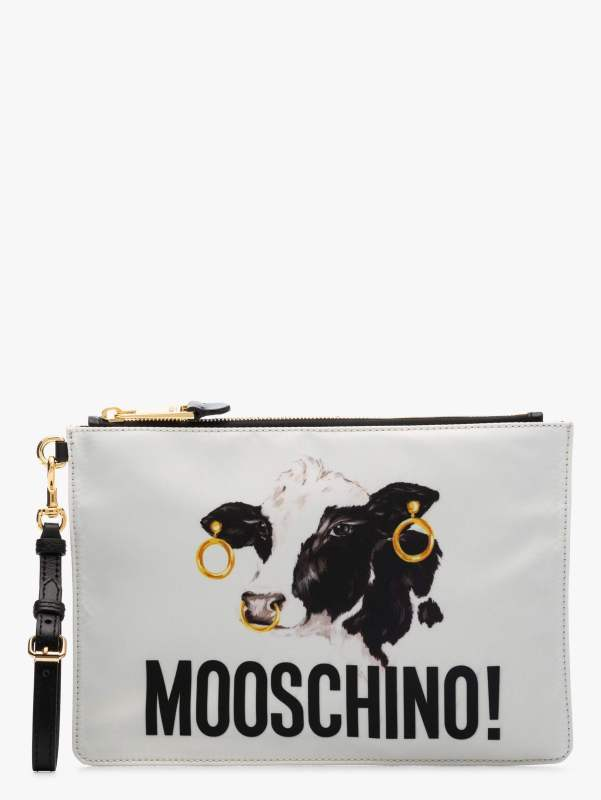 The Clutch bag, £280, Moschino at Browns Fashion - Buy Now