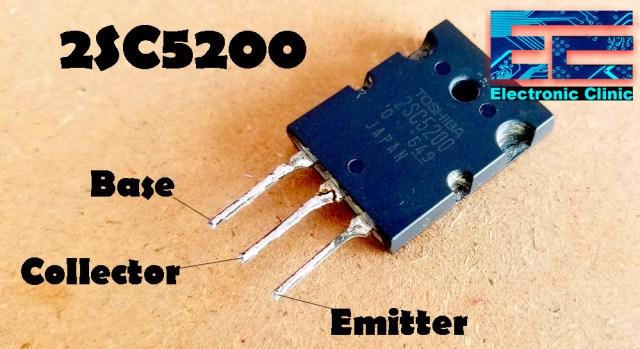 Audio Amplifier using 2SC5200
