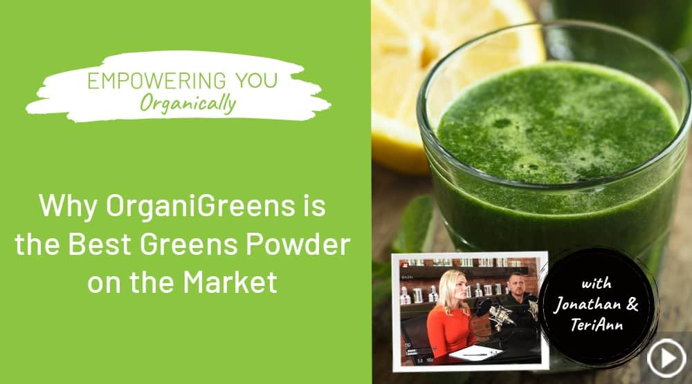 Organixx Best Green Powder in the Market