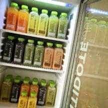 Kühlschrank mit Antidote Säften