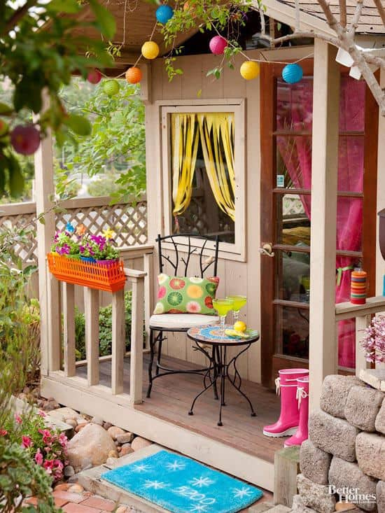 How to Set Up a Chic Shed