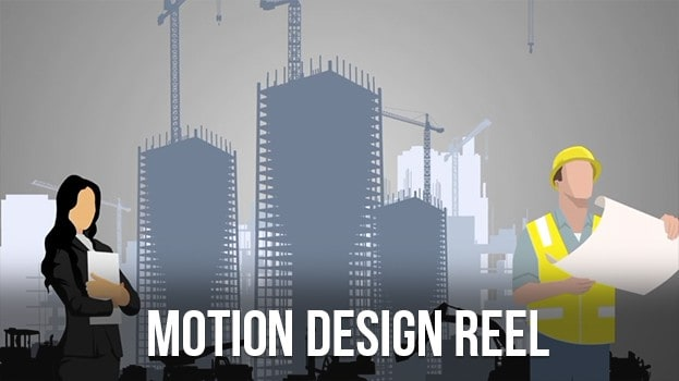 Motion design in denver demo reel buildings