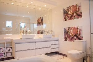 ideas to upgrade your bathroom with mirror