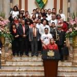 """La presidente Añez pide """"conservar"""" la lucha por la democracia y libertad a cuatro años del """"21F"""""""