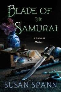 Cover of Blade of the Samurai, by Susan Spann, a Shinobi Mystery