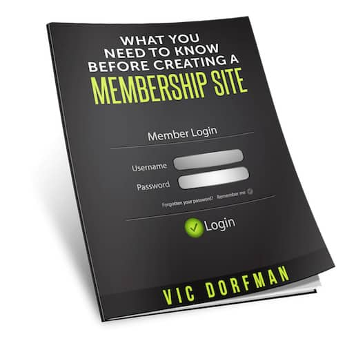 what you need to know 1 - How to Create a Membership Website