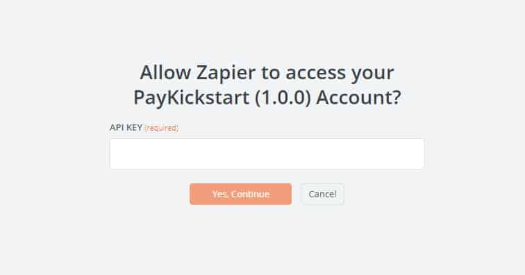 allow zapier - MemberMouse integration with PayKickStart