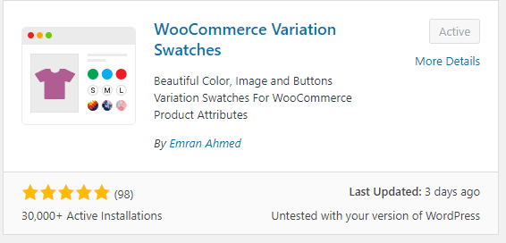 2018 12 14 14 51 22 Add Plugins ‹ SLYK — WordPress - Changing WooCommerce default dropdown to colored buttons