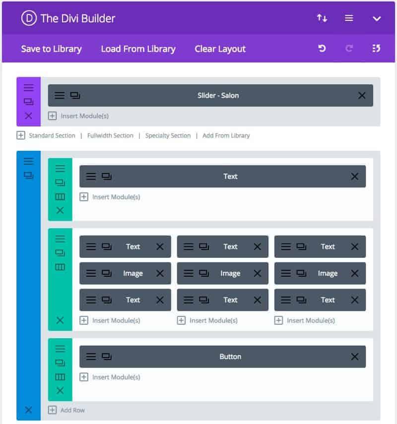 divi builder drag drop - Custom Templates versus WordPress Page Builders