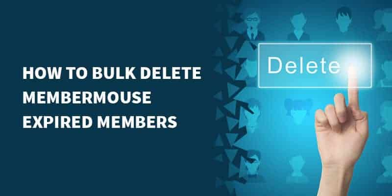 membermouse bulk delete - Make the visibility of TOC hidden in certain posts