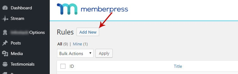 memberpress rules - How to create a rolling access window in MemberPress