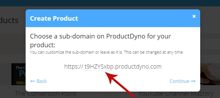 pd product subdomain - How to integrate PayKickstart campaigns with ProductDyno