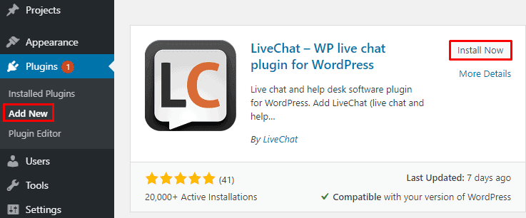 LiveChat - How to add LiveChat to your WordPress website