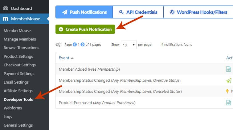 membermouse push notification - How to integrate MemberMouse with wpForo