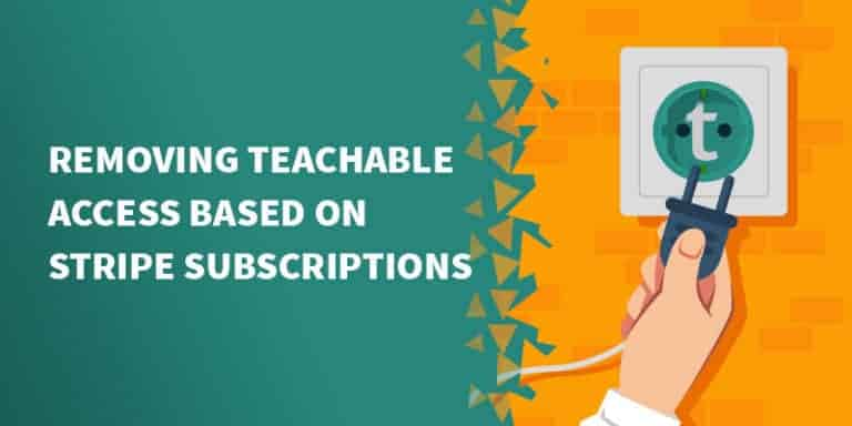 teachable stripe 768x384 - Best online course platforms (LMS) for your membership site