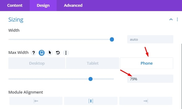 Sizing Phone - How to Trigger a ThriveLeads Popup with a Divi Button Element