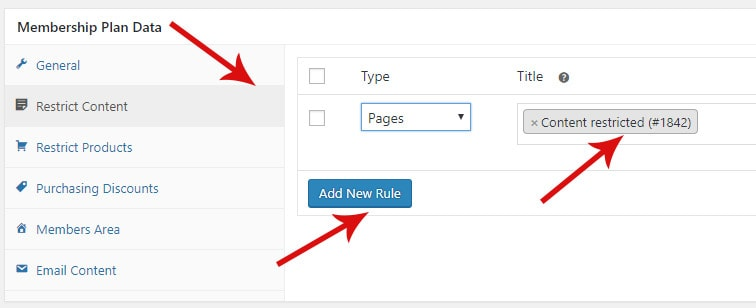 restrict content - How to create a membership website with WooCommerce and CCBill
