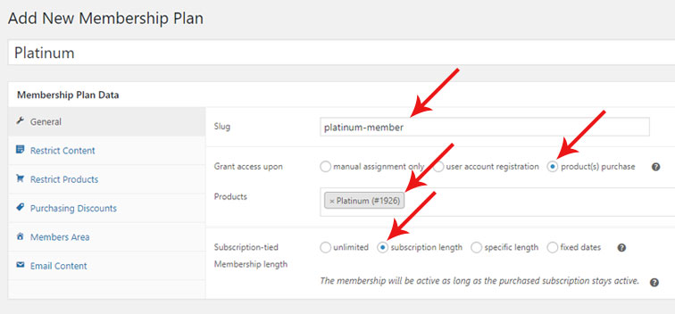 woo membership settings - How to create a membership website with WooCommerce and CCBill
