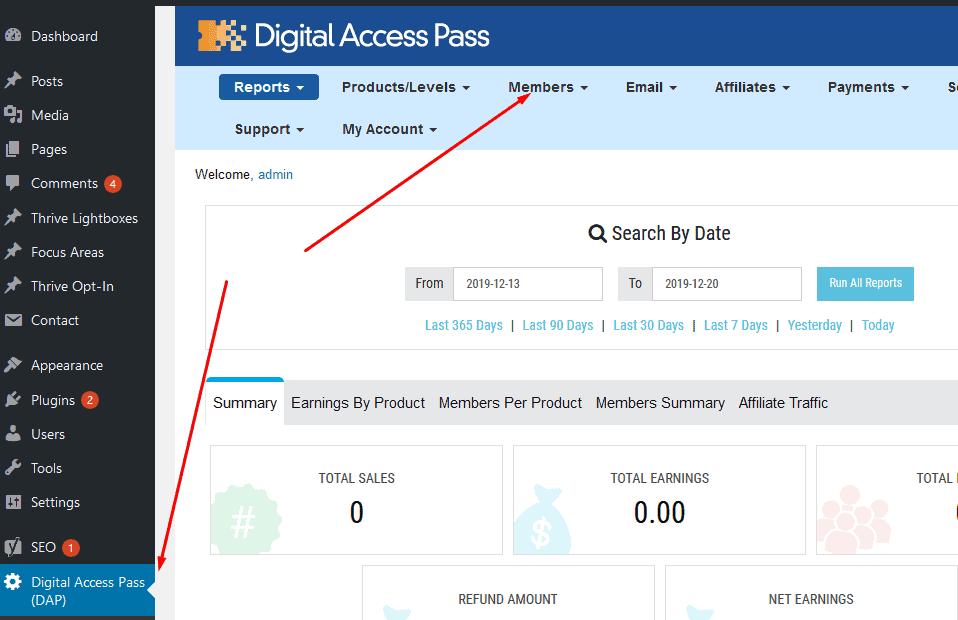 memberfix dap members - How to migrate from Digital Access Pass (DAP) to MemberPress