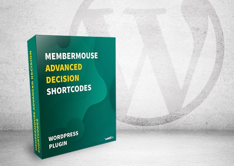 mm advanced decision shortcodes box - [WordPress Plugin] MemberMouse Advanced Decision Shortcodes