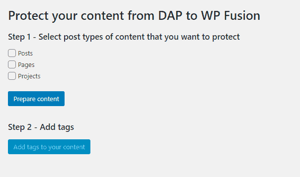 2020 06 07 0815 - Migrate Content Protections From Digital Access Pass (DAP) to WP Fusion