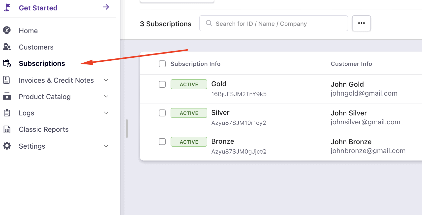 screenshot 1 - Migrating Active Subscriptions from Chargebee to Stripe