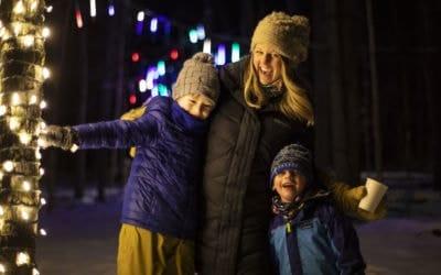 Boyne Highlands' Enchanted Trail Offers Dazzling Light Display