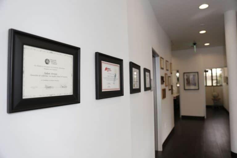 Sydon Arroyo Dentist Certifications